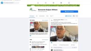 Raadsvergadering Gulpen-Wittem door storing bij Zoom via Facebook