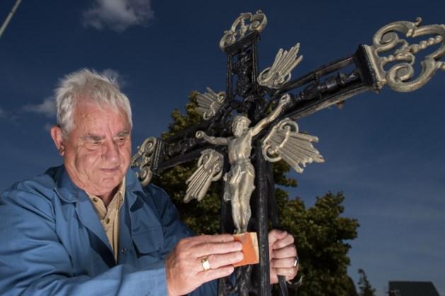 Wegkruis in Brunssum als eerbetoon aan overleden mijnwerkers