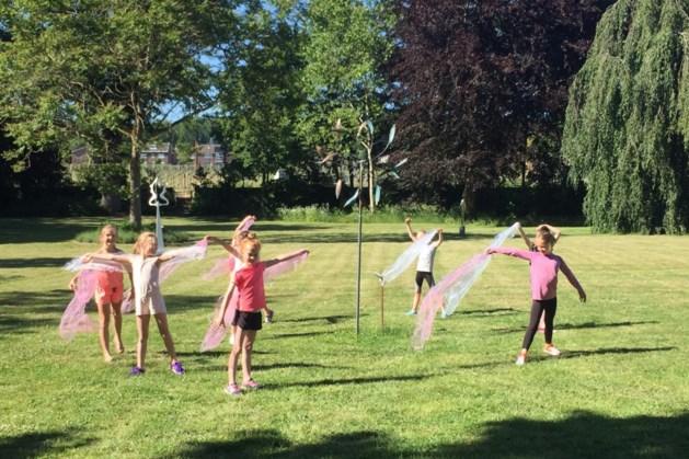 Ballet zonder spitzen op het zachte gras van Chateau Sint Gerlach