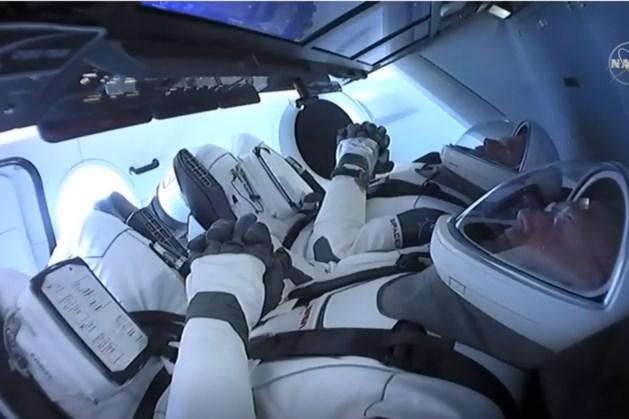 Eerste commerciële bemande raket gelanceerd door SpaceX