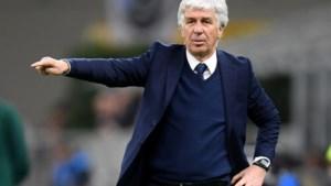 Trainer Atalanta zat besmet op de bank in Valencia