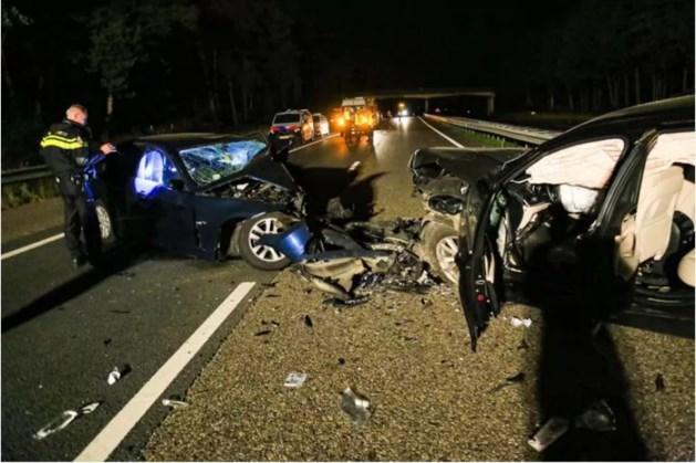 Spookrijder veroorzaakt ernstig ongeluk op A67