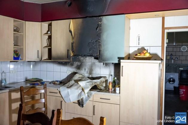 Pannetje op het vuur zorgt voor flinke schade in keuken