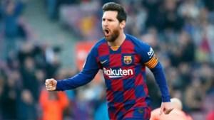 'Messi gaat contract uitdienen bij FC Barcelona'