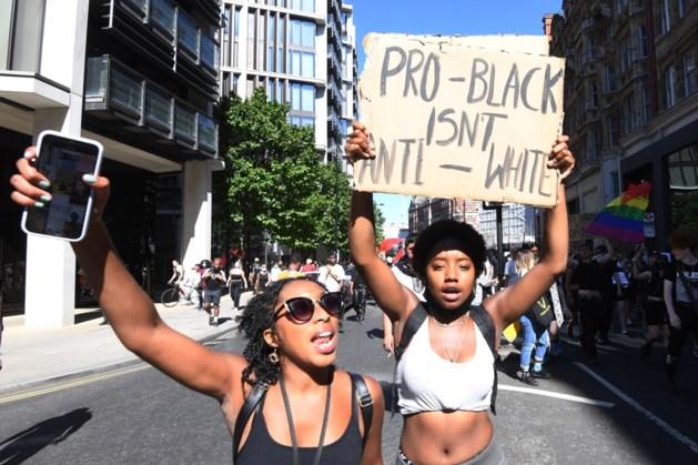Black Lives Matter protest op markt Maastricht