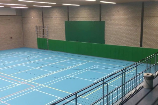 'Blue Power' in VCL-thuishaven Sporthal De Baneberg