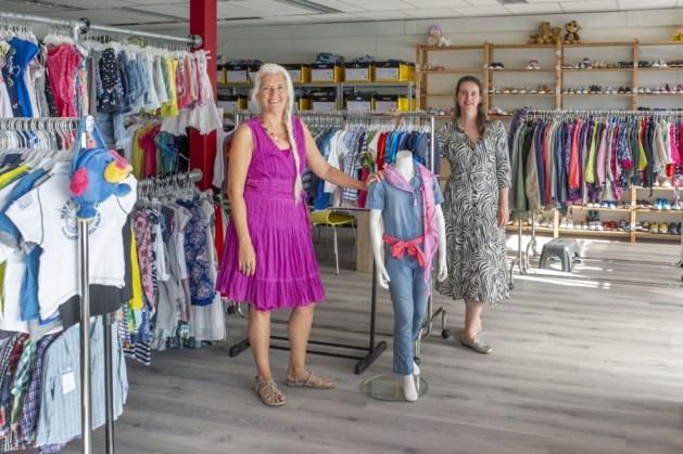 'Nieuwe kleding uit een échte winkel'