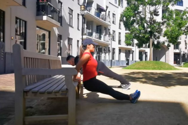 Trimparcours uitgezet door Heerlens Maankwartier om fit te blijven in coronatijden