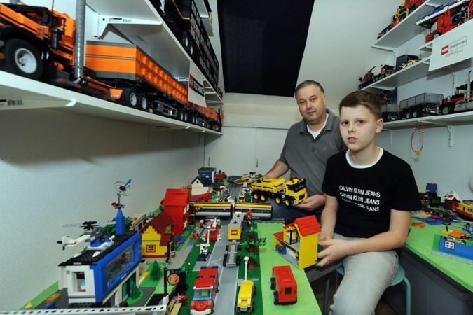 Lego houdt vader en zoon Geurtjens van de straat