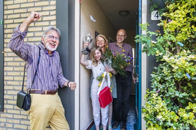 Basisschoolleerling Meike Arends uit Maastricht is de beste voorlezer van Limburg