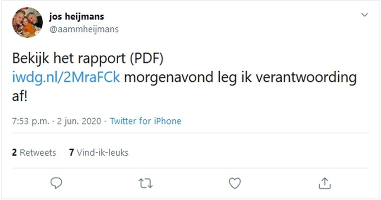 Heijmans legt verantwoording af in gemeenteraad