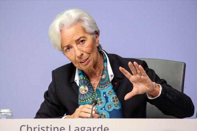 ECB rekent op krimp economie eurozone met 8,7 procent