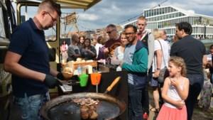 Voorproefje festival SPIJS! met foodtrucks op terrein Hanos