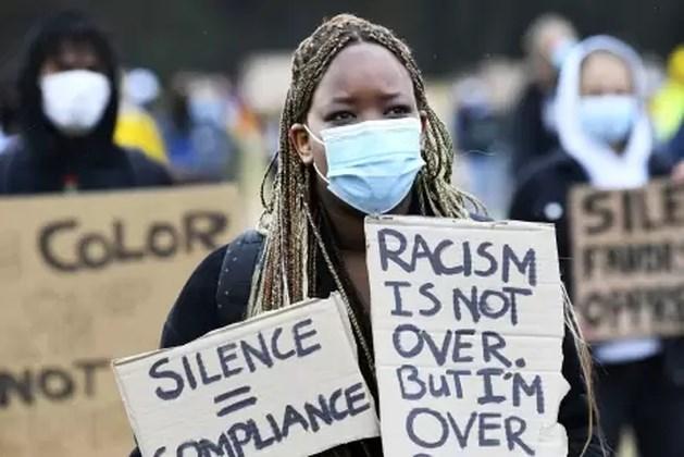 Duizenden betogers tegen racisme in Nijmegen