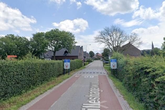 Tijdelijke drempels op Hilleshagerweg in Vijlen
