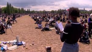 Video: Drukbezocht protest tegen racisme in Maastricht rustig verlopen