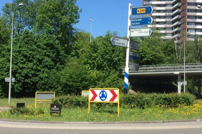 Proef bevalt: Heerlen wil verder met geadopteerde rotondes