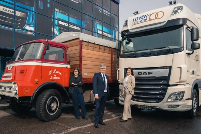 Na eeuw klopt DAF-hart van Loven Trucks in Heerlen nog steeds gepassioneerd