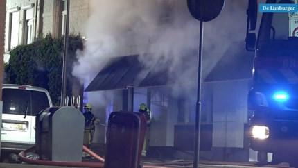 Grote schade bij pizzeria Hoensbroek door brand in vloer