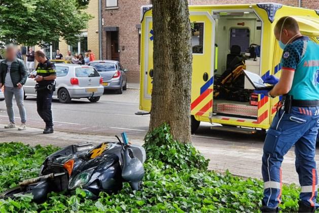 Scooterrijder gewond bij ongeluk in Kerkrade