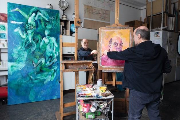 Limburgse kunstenaars: voor Ton Franssen uit Vaals is een zelfportret de ideale manier om zichzelf te onderzoeken