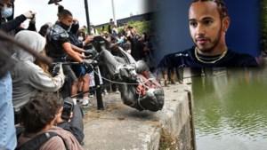 Lewis Hamilton: 'Breek alle standbeelden van slavenhandelaren af'