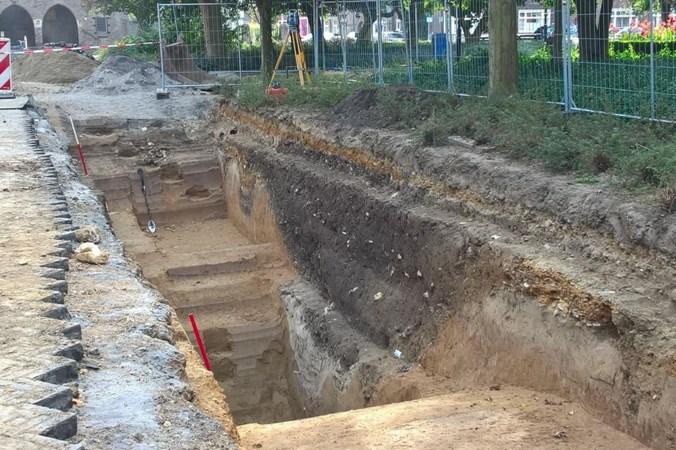 Unieke toegang tot Romeinse versterking ontdekt onder Tempsplein in Heerlen