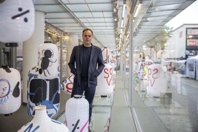Kunstenaar Jan Rothuizen fietste door Heerlen, zag lege etalages en werd fan van de stad