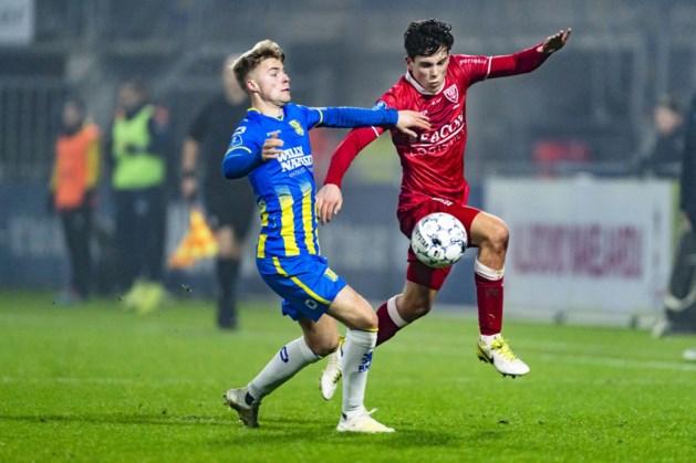 Fortuna vergevorderd met buitenspeler Emil Hansson