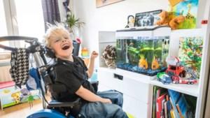 De vijfjarige Ían heeft een paradijsje in Belfeld dankzij mama's Manon en Jaimy