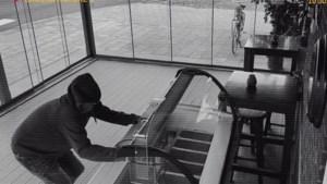 IJsvitrine gestolen uit serre van café in Beringe