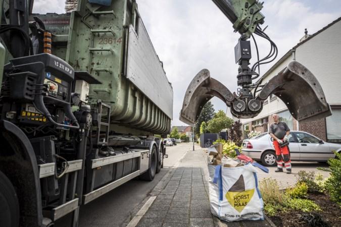 Horst aan de Maas haalt in coronamaanden 220 ton meer afval op