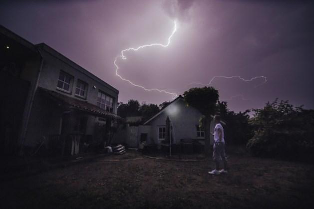 Code geel in Limburg: kans op onweersbuien met hagel en windstoten