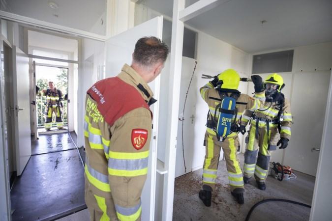 Sittardse Eisenhowerflat is een speeltuin voor brandweermannen