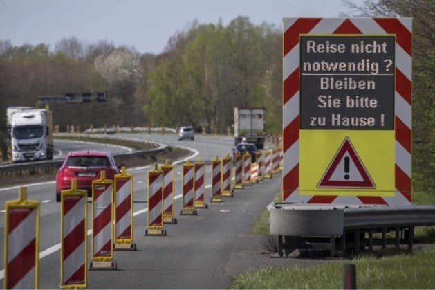 Duitsland stuurde bijna 200.000 mensen bij grens terug om corona