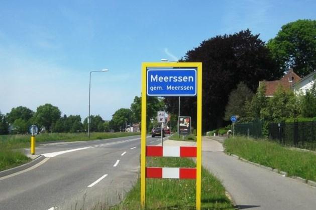 Rotonde aan Herkenberg Meerssen op de schop