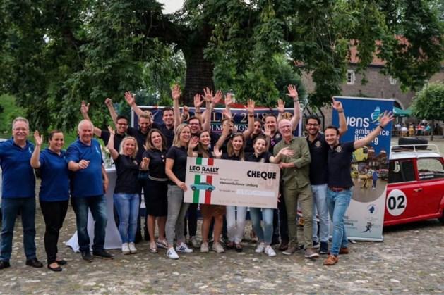 Tussenstand alternatieve rally LEO Club Sittard-Geleen 1700 euro