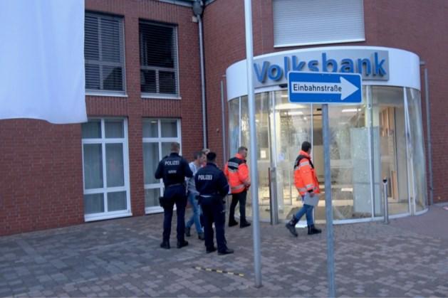 Opnieuw plofkraak in Duits grensgebied: geldautomaat in Wassenberg opgeblazen
