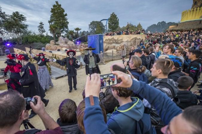 Coronagriezels in Toverland: 120 acteurs grimeren op anderhalve meter afstand