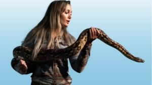 Ecoloog Sterrin Smalbrugge: 'De cobra verdient evenveel medeleven als de leeuw'