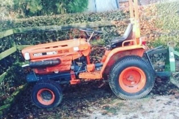 Dieven aan de haal met tractor in Geulle