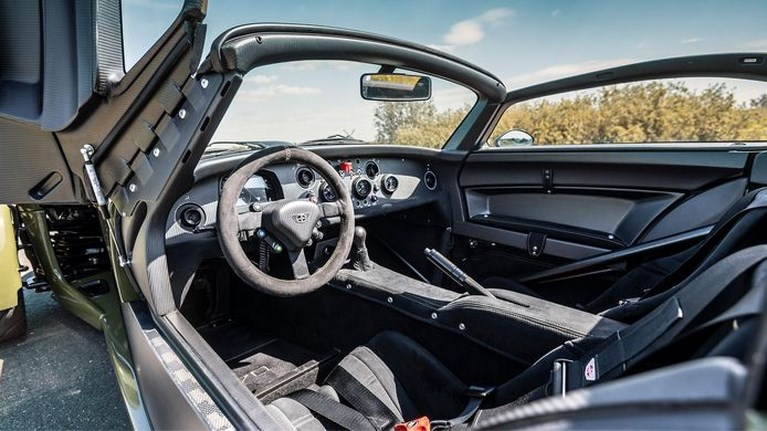 Geen enkele auto levert meer G-krachten dan deze Nederlandse supersportwagen