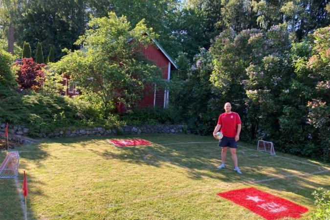 Maastrichtenaar maakt 'Klein Geusselt' in zijn Finse tuin