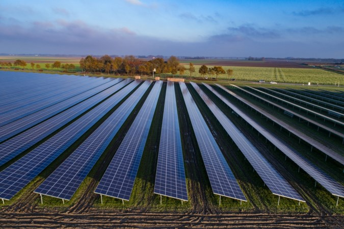 Plan voor groot zonne-energiepark in Evertsoord
