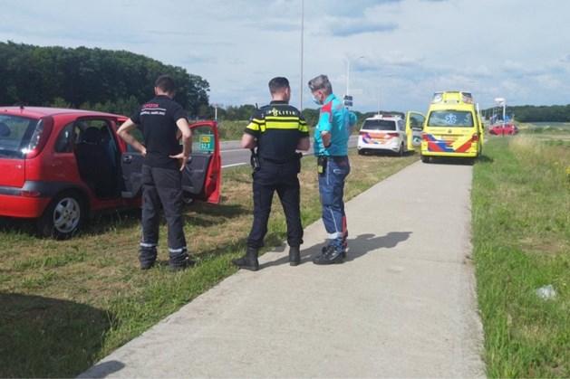 Automobiliste gewond bij ongeval in Sint Joost