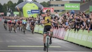 'Vierde rit BinckBank Tour finisht in Limburg'