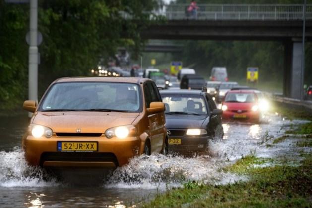 Veiligheidsregio kreeg 25 meldingen over wateroverlast in Midden-Limburg door hevige regen