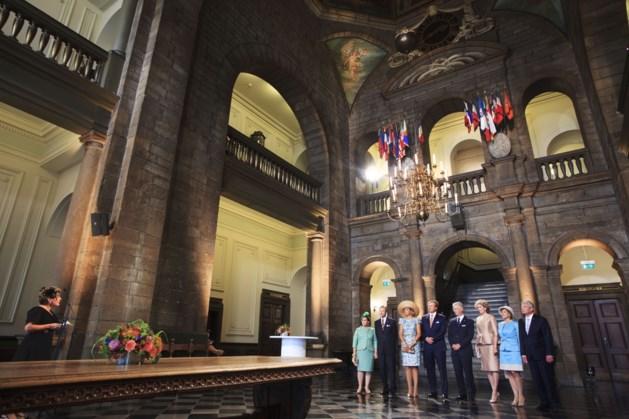 Maastricht eert Luxemburg met vlag en volkslied