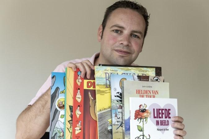 Maastrichtenaar Robin Vinck weet alles van troostrijke strips