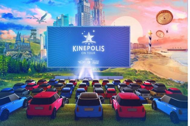 Drive-in-bioscoop met 'grootste mobiele LED-scherm ter wereld' in Bilzen
